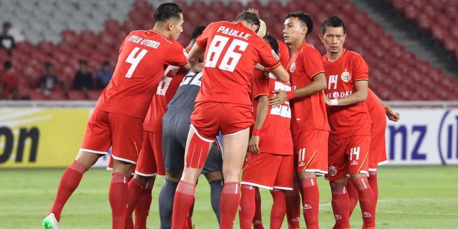 Laga Persija Kontra Borneo FC Bakal Dihelat di Stadion Wibawa Mukti