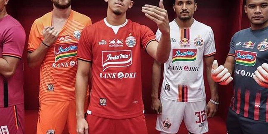 Kata Ketum The Jak Mania Soal Jersey Anyar Persija untuk Liga 1 2019