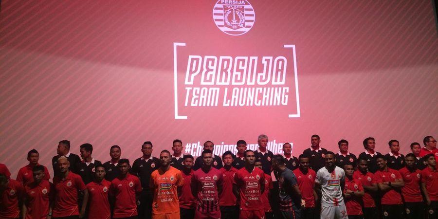Persija Didukung 6 Sponsor Jalani Liga 1 2019, tapi