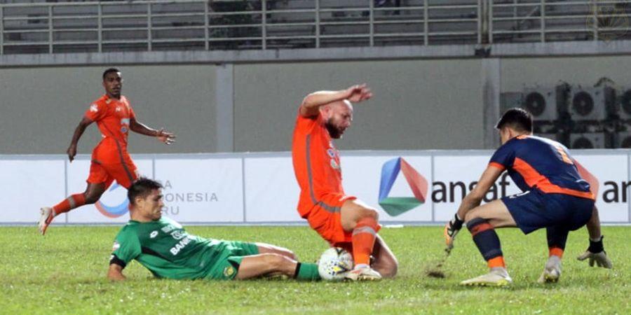 Penyerang Bhayangkara FC  Akui Timnya Gugup Saat Hadapi Borneo FC