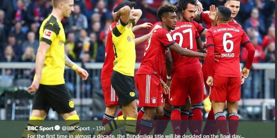 Terdampak COVID-19, Bayern Muenchen dan Dortmund Kompak Potong Gaji Pemain untuk Bantu Staf