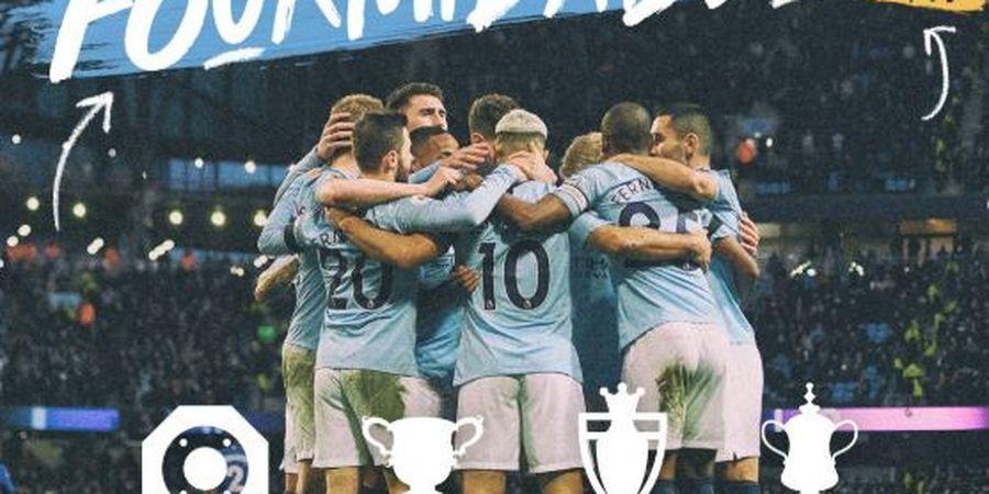 Hasil Piala FA - Manchester City Menang 6-0, Ukir Treble dan Sejarah di Inggris