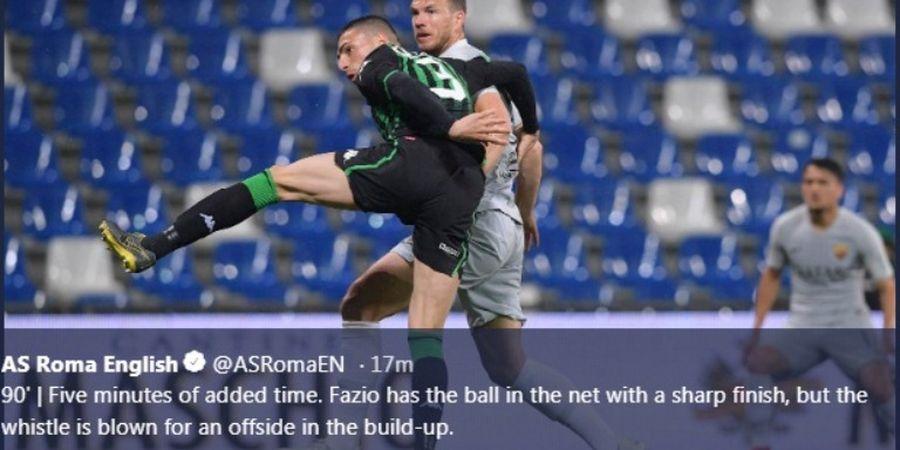 Hasil dan Klasemen Liga Italia - AS Roma Geser AC Milan
