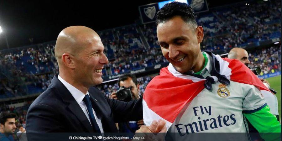 Zidane Menolak Permintaan Kiper Cadangan Real Madrid untuk Pergi