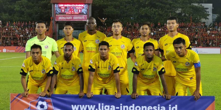 Semen Padang Bawa 16 Pemain ke Markas Persipura Jayapura