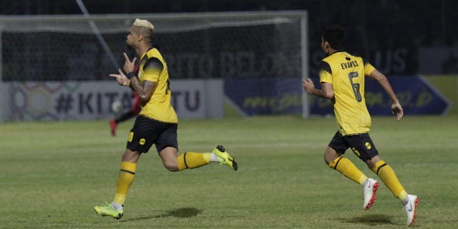 Cetak Dua Gol ke  Gawang Persebaya, Striker Barito Putera Merasa Biasa Saja