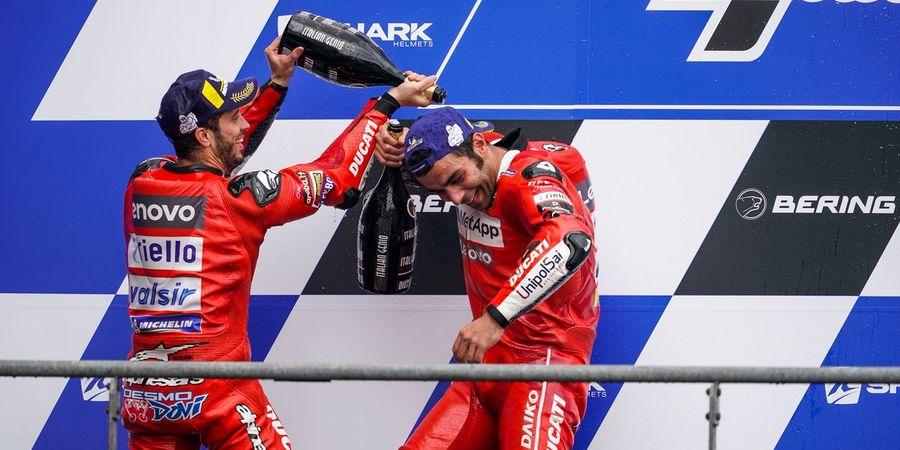 Berita MotoGP - Ini Nasihat Andrea Dovizioso yang Berhasil Mengangkat Danilo Petrucci
