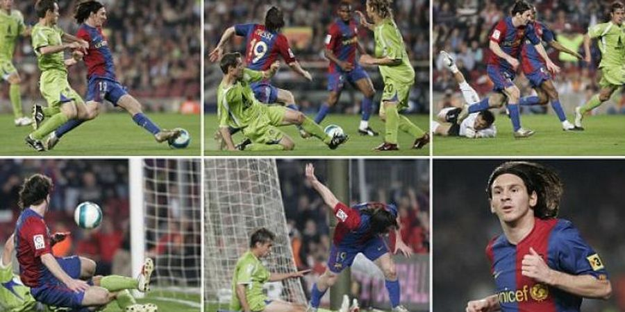 Video Gol Legendaris Lionel Messi yang Setara Gol Diego Maradona