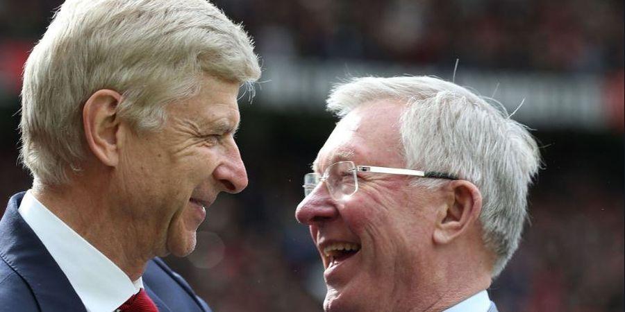 Lawan di Lapangan, Wenger dan Sir Alex Punya Ramuan Sukses yang Sama