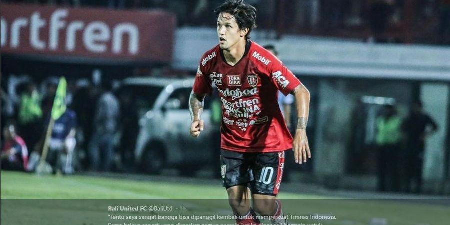 Irfan Bachdim Antusias Sambut Laga Kontra PSM Makassar