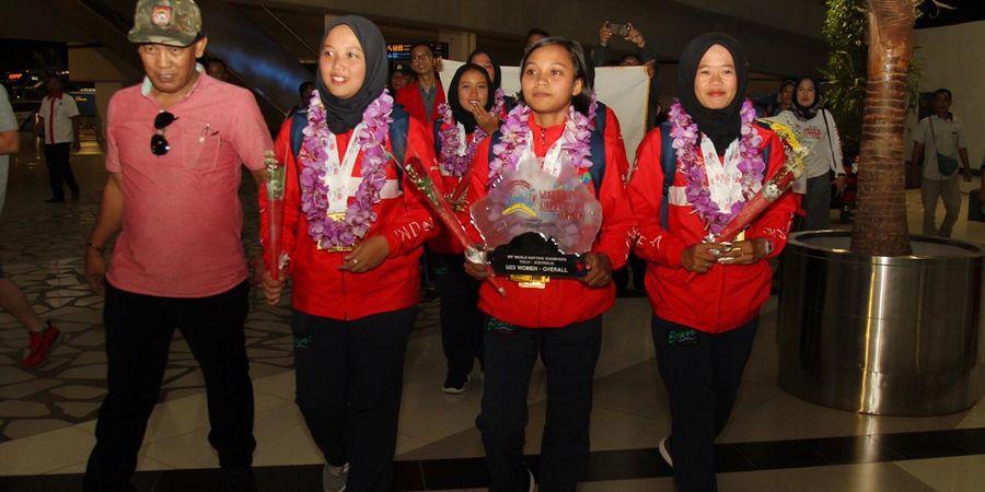 Tim Arung Jeram Putri U23 Indonesia Raih Juara Dunia di Australia