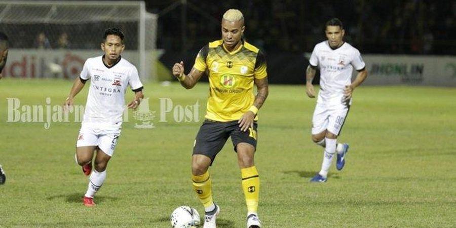 Hasil Liga 1 - Gol Tunggal Andik Vermansah Tumbangkan Barito Putera