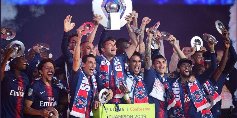 Klasemen Akhir dan Rekapitulasi Liga Prancis - PSG Juara, Monaco Selamat