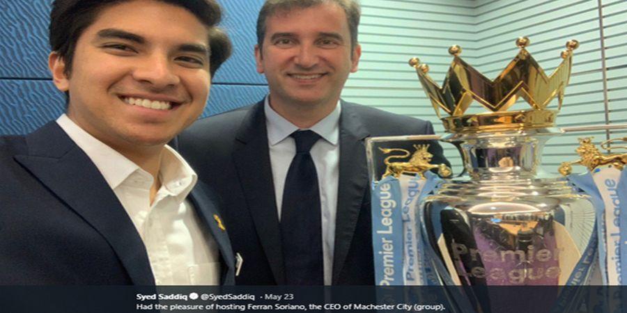 Kunjungi Menteri Olahraga, Man City Ingin Akusisi Klub Malaysia?
