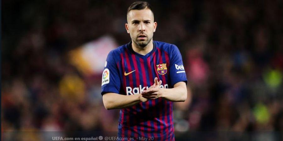 Karena Nila 2 Laga, Rusak Musim Jordi Alba bersama Barcelona