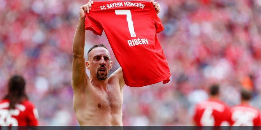 CEO Bayern Muenchen Sebut, Satu Sosok Pengganti Ribery Ada di Man City