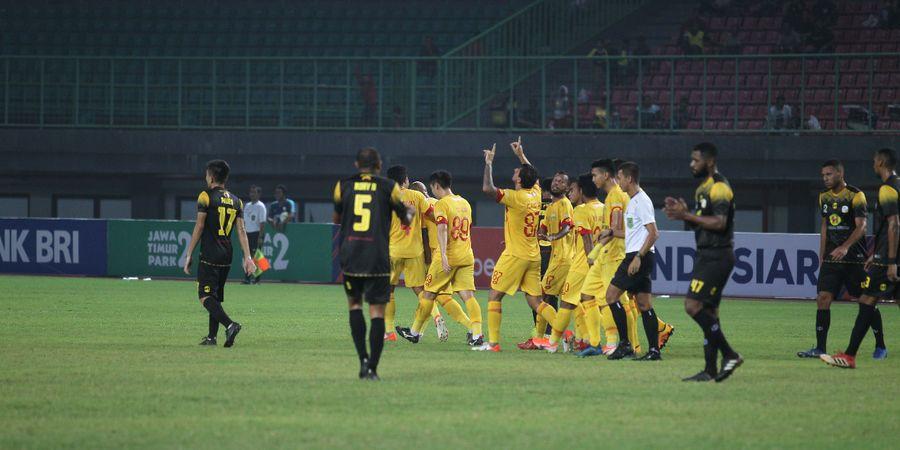 Kunci Kemenangan Bhayangkara FC atas Barito Putera dalam Laga Hujan 6 Gol