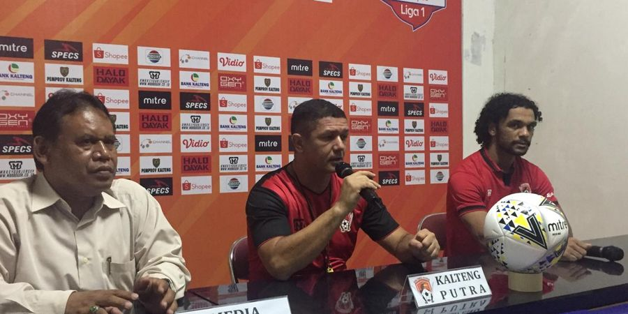 Meski Jadi Tim Musafir, Kalteng Putra Siap Bereskan Perseru Badak Lampung FC