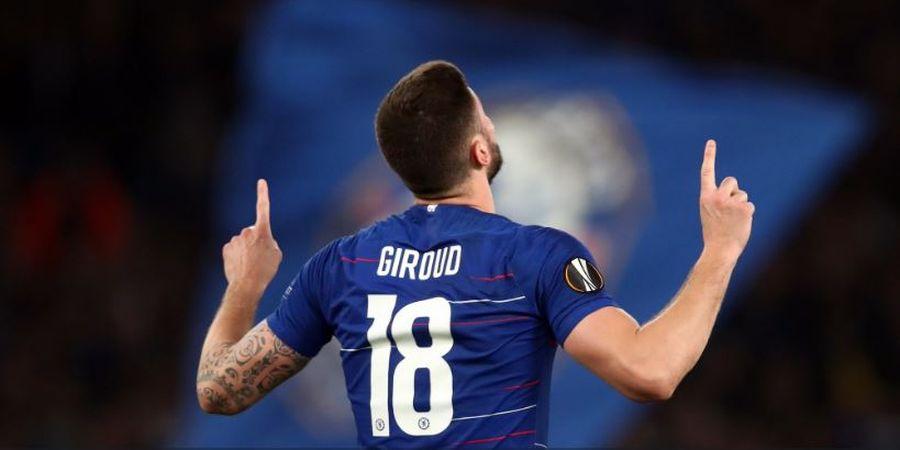 VIDEO - Bawa Chelsea Juara, Giroud Sampaikan Pesan ke Arsenal