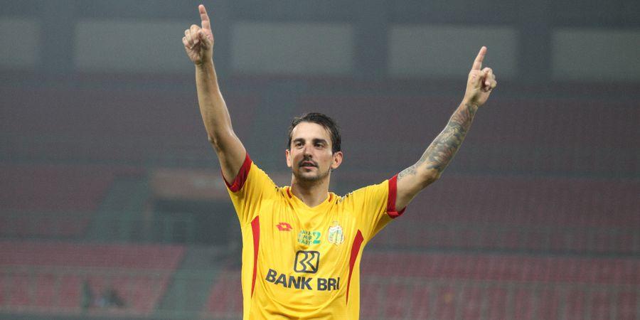 Daftar Top Scorer Sementara Liga 1 2019, Trio Brasil Jadi Penguasa