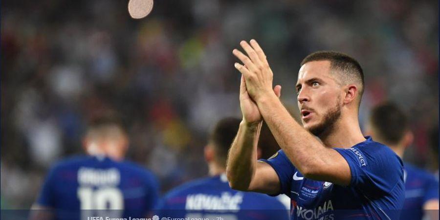 Saat Ini Cuma Ronaldo dan Messi yang Bisa Gantikan Hazard di Chelsea