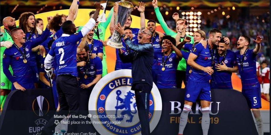 Kirim 8 Pemain, Chelsea Dominasi Tim Terbaik Liga Europa 2018-2019