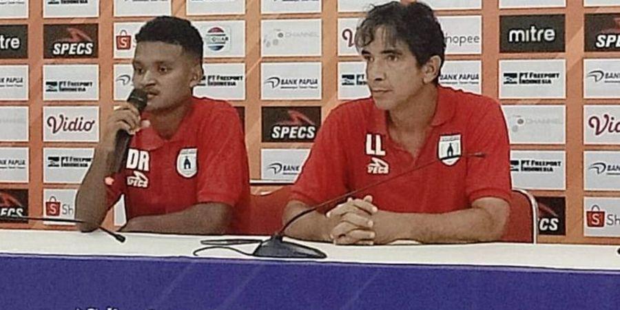 Persipura Tak Kunjung Menang, Luciano Leandro: Pemain Sudah Berusaha