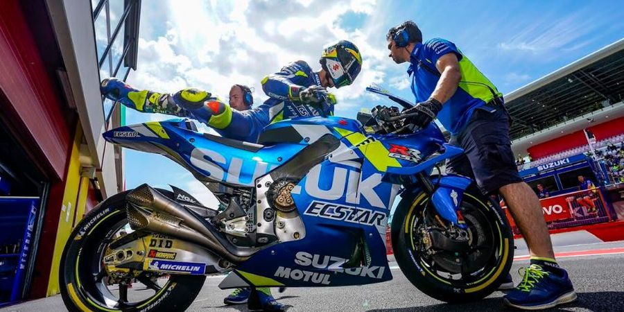 Suzuki Ecstar Harapkan Para Pembalapnya Lebih Kompetitif Lagi