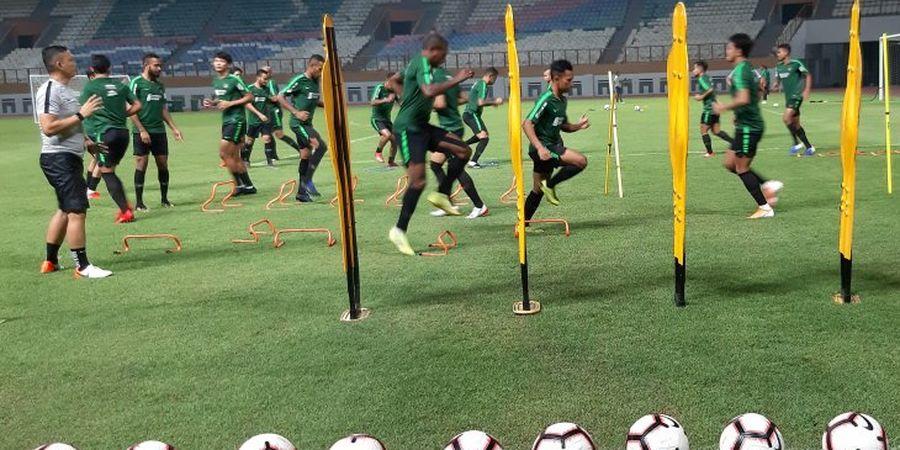 Timnas Indonesia Lahap Menu Latihan Terakhir Sebelum Hadapi Yordania