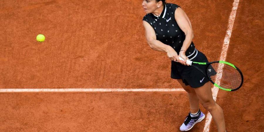 Hasil French Open 2019 - Menang Mudah, Simona Halep ke Perempat Final