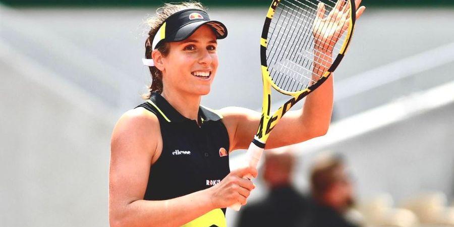 French Open 2019 - Tembus Semifinal, Johanna Konta Cetak Sejarah