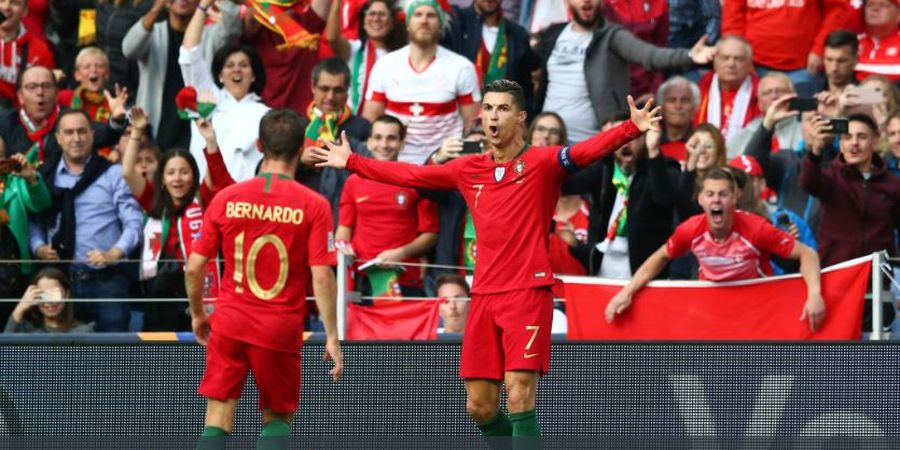 2 Gol dalam 3 Menit, Cristiano Ronaldo Bawa Portugal ke Final UEFA Nations League