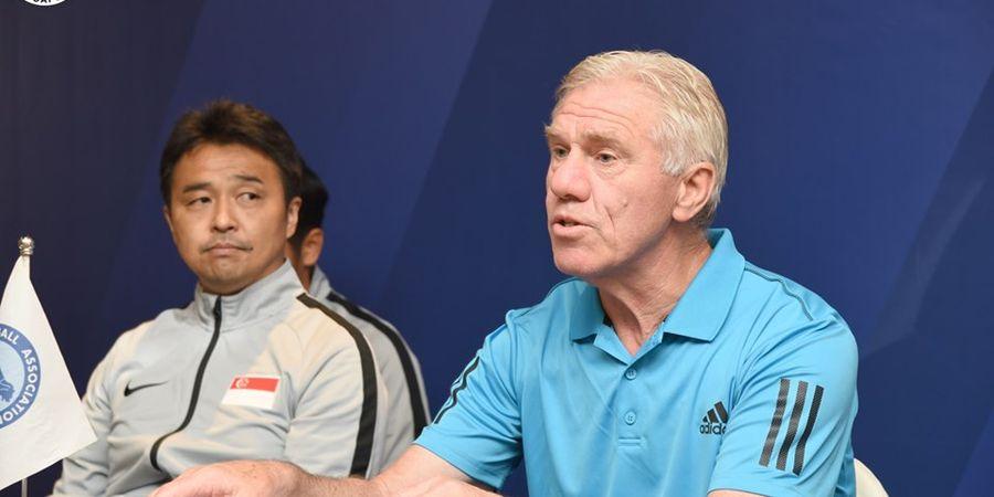 Malam Ini, Singapura Ditantang Anak Asuh Eks Pelatih Timnas Indonesia