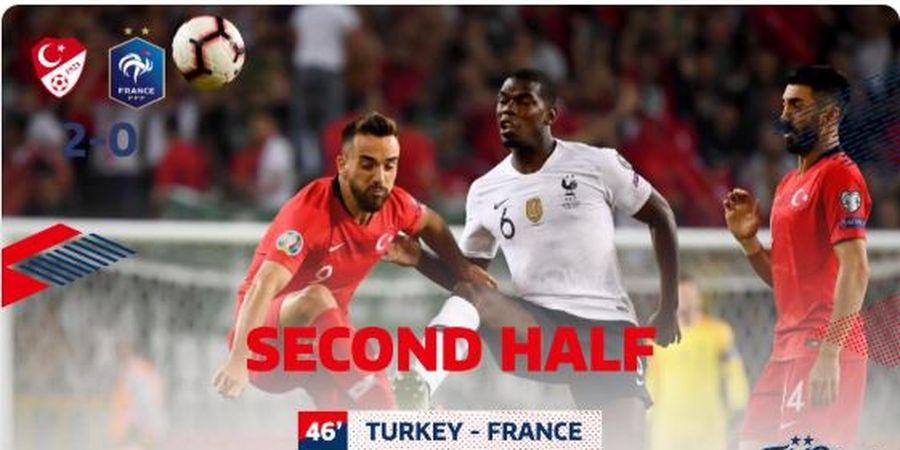 Hasil Kualifikasi Euro 2020 - Rekor Terburuk dalam 10 Tahun, Prancis Keok