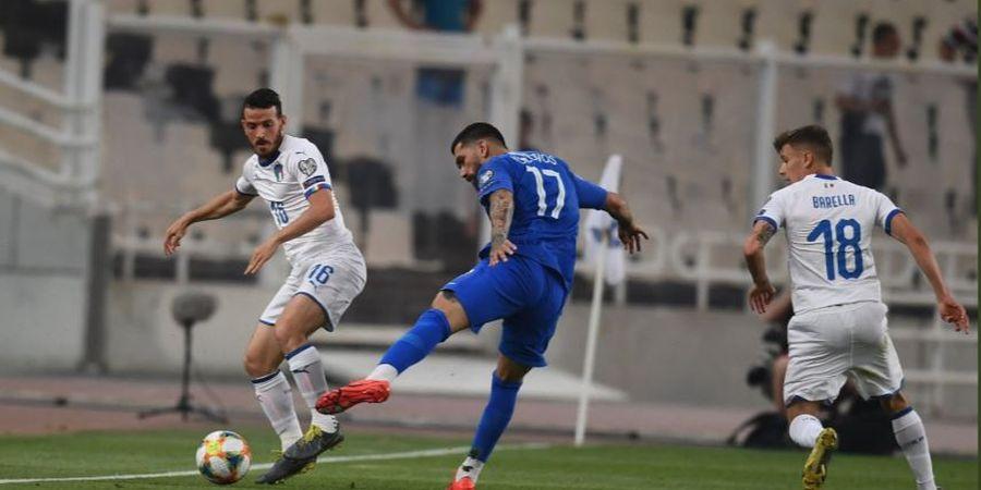Hasil Kualifikasi Euro 2020 - Tampil Efektif, Italia Gulung Yunani