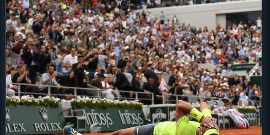 Raja Tanah Liat, Rafael Nadal Sabet Gelar French Open ke-12