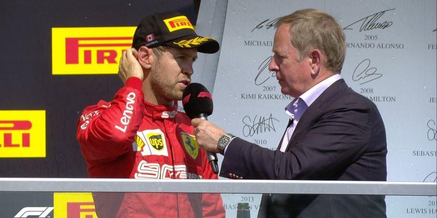 Sebastian Vettel: Performa Charles Leclerc Tak Mengejutkan Ferrari
