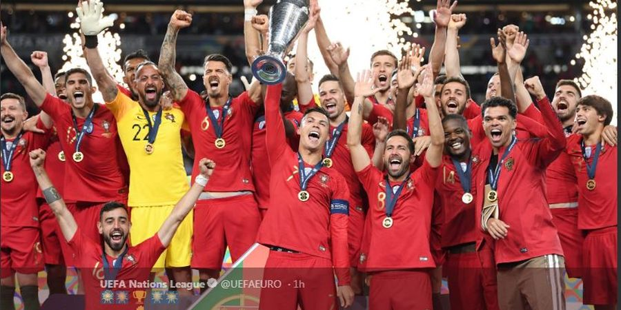 Hasil Final UEFA Nations League - Kalahkan Belanda, Portugal Kawinkan Dua Gelar Eropa