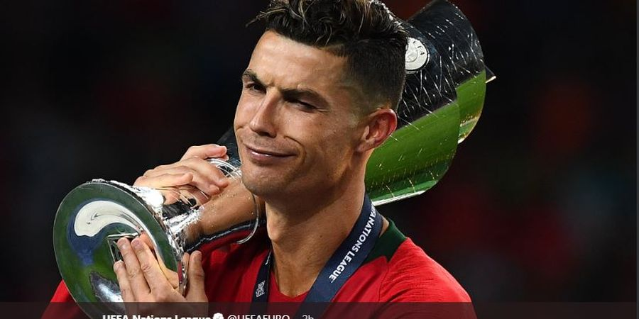 Portugal Juara UEFA Nations League, Cristiano Ronaldo 2 Lionel Messi 0