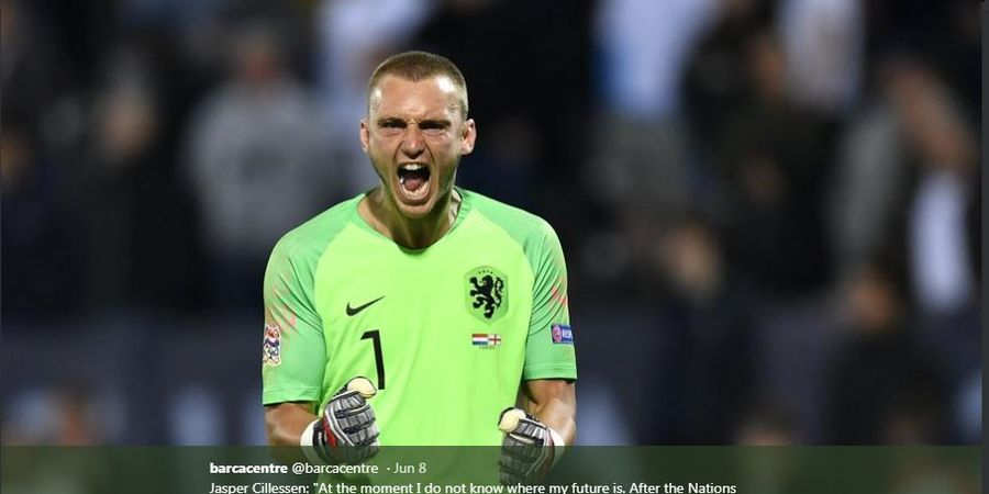 Hasil Babak I Final UEFA Nations League - Kiper Cadangan Barcelona Jadi Pahlawan Belanda