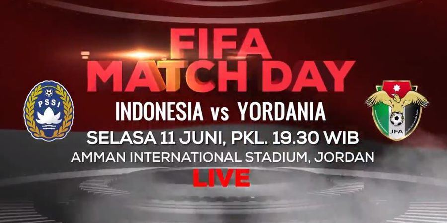 Link Streaming Timnas Indonesia Vs Timnas Yordania