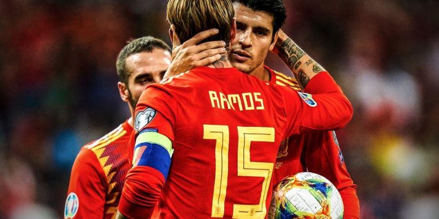 Hutang Budi Alvaro Morata pada Kapten Timnas Spanyol Sergio Ramos