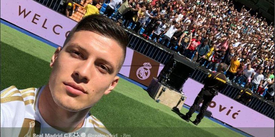 Real Madrid Resmi Perkenalkan Penyerang Asal Serbia, Luka Jovic