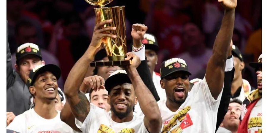 Juara NBA, Toronto Raptors Akhiri Masa Derita dan PHP Dua Dekade