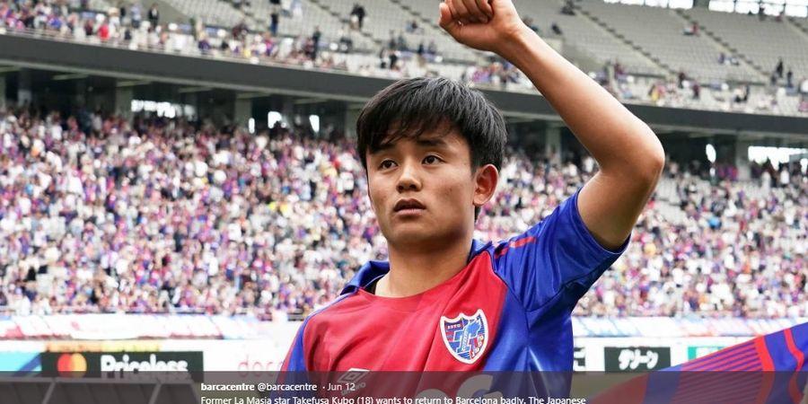 Dididik Barcelona, Messi Jepang Tetap Sebut Real Madrid Klub Terbaik