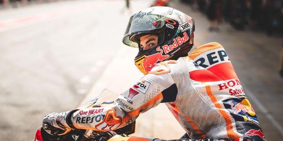 MotoGP Belanda - Marc Marquez Waspada Serangan Yamaha dan Suzuki di Assen