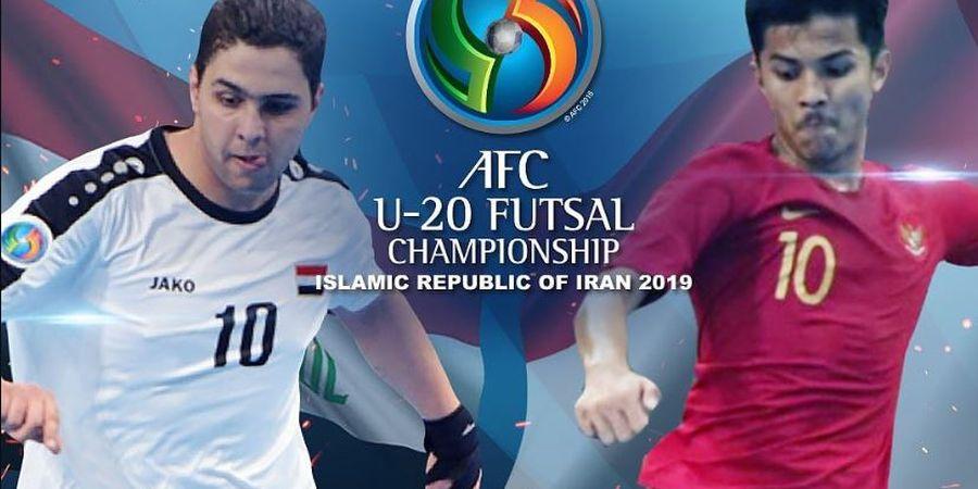 Timnas Futsal U-20 Indonesia Jadi Juara Grup D Seusai Taklukkan Irak