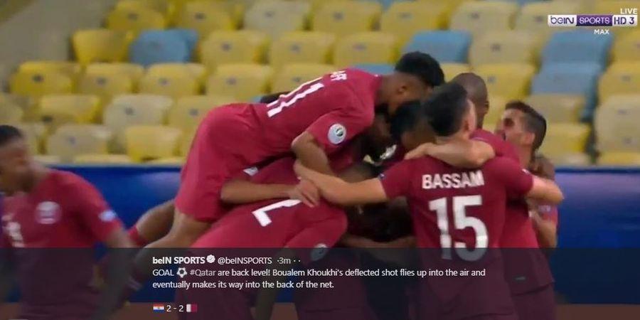 Hasil Copa America 2019 - 2 Gol Cantik Bikin Juara Asia Batal Kalah