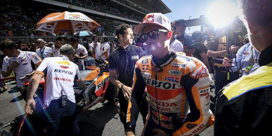 MotoGP Catalunya 2019 - Marquez Bela Lorenzo meski Sempat Marah pada FP3