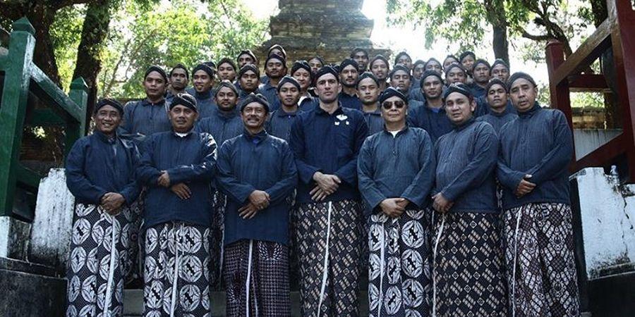 Tak Lupakan Tradisi, PSIM Yogyakarta Ziarah ke Makam Raja-raja Imogiri